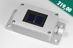 Sensor for solar radiation and temperature SunRef 500